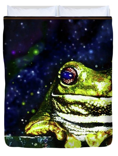 Ruler Of The Cosmos  Duvet Cover