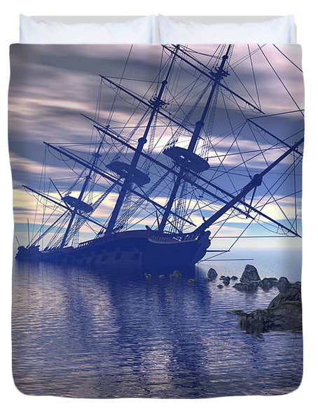 Run Aground Duvet Cover