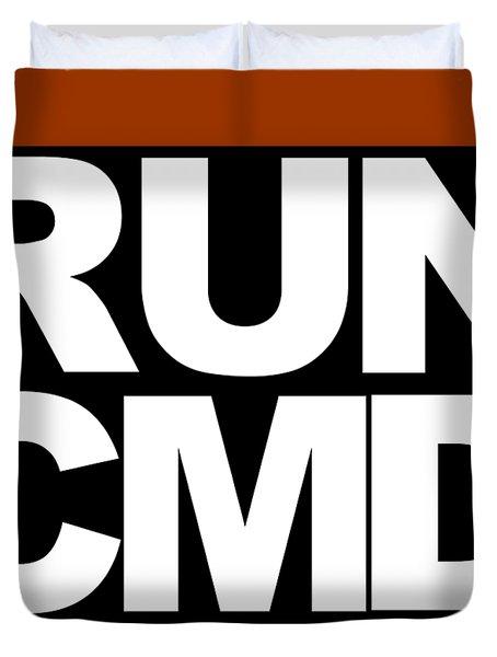 Run Cmd Duvet Cover