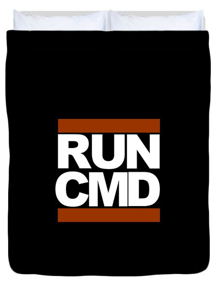 Run Cmd Duvet Cover