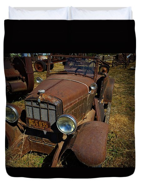Run Down Junker Duvet Cover by Garry Gay
