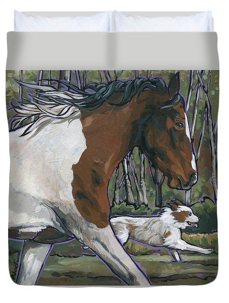 Run Duvet Cover