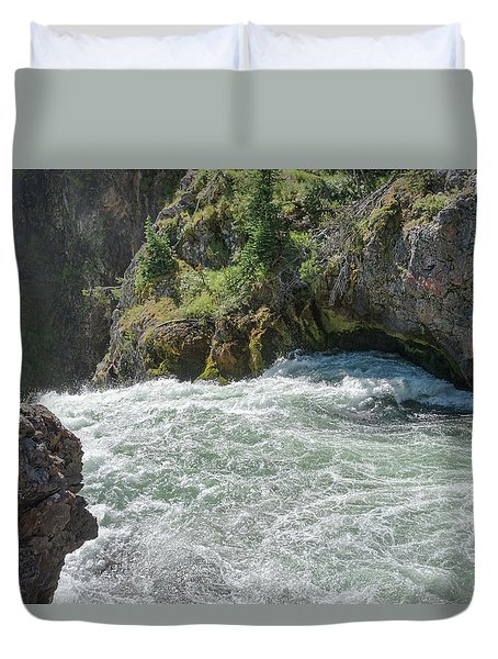 Run To The Brink Duvet Cover