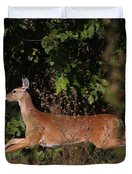 Running Deer Duvet Cover