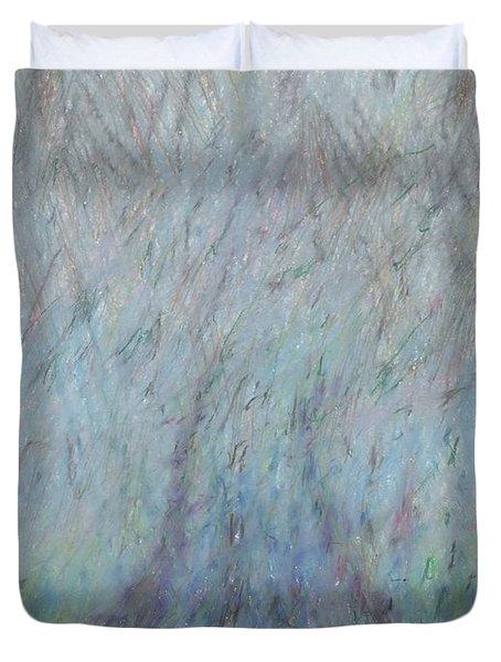 Running Into Fog Duvet Cover by Andy  Mercer
