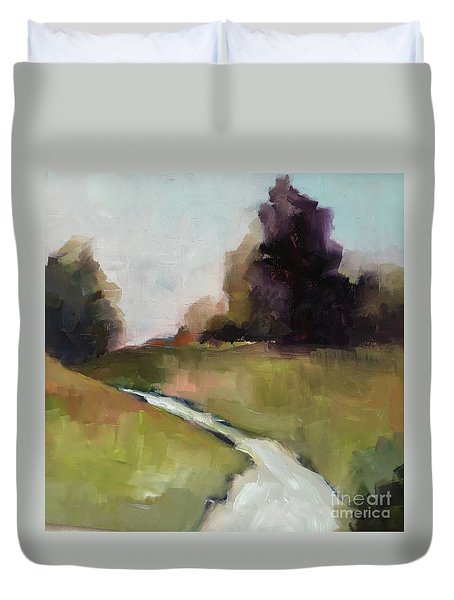 Running Stream Duvet Cover