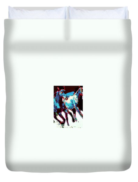 Running Wild No. 4 Duvet Cover