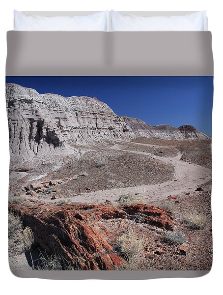 Runoff Obstacle Duvet Cover