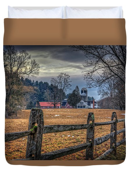 Rural America Duvet Cover by Everet Regal