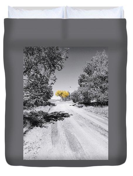 Rural Autumn Splash Duvet Cover