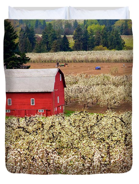 Rural Color Duvet Cover by Mike  Dawson