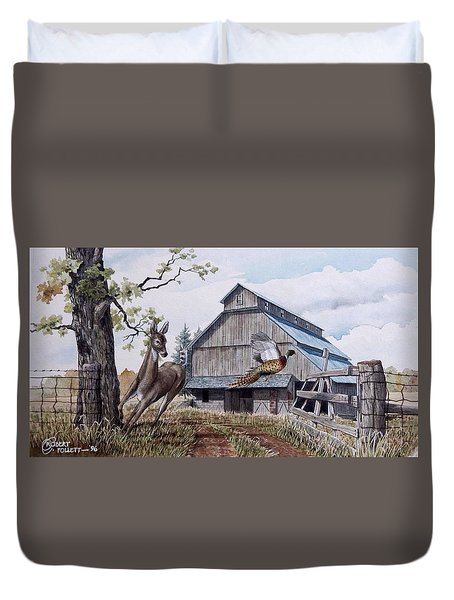 Rural Flush Duvet Cover