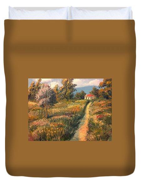 Rural Idyll Duvet Cover