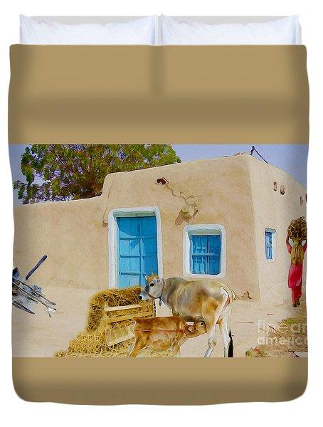 Rural Life  Duvet Cover