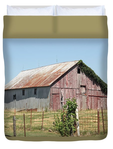 Rural Moberly  Duvet Cover