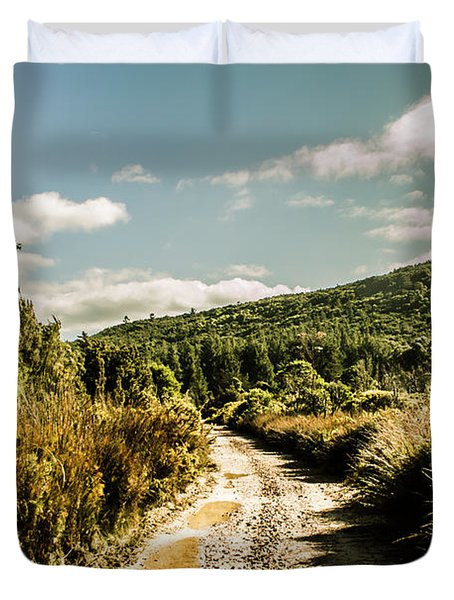 Rural Paths Out Yonder Duvet Cover