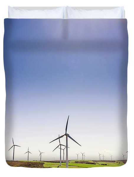 Rural Power Duvet Cover
