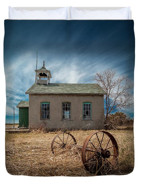 Rural School Duvet Cover