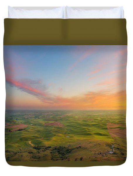 Rural Setting Duvet Cover by Ryan Manuel
