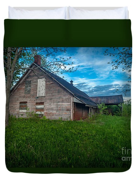 Rural Slaughterhouse Duvet Cover