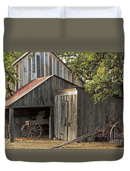 Rural Texas Duvet Cover