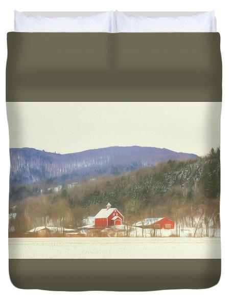 Rural Vermont Duvet Cover