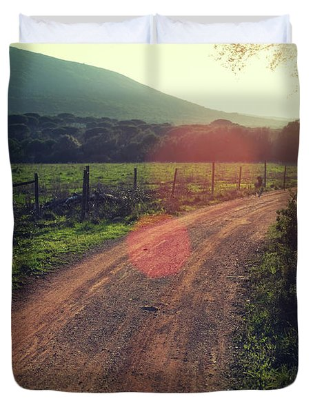 Rural Ways Duvet Cover