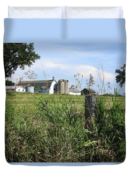 Rural Wisconsin In The Summer Duvet Cover
