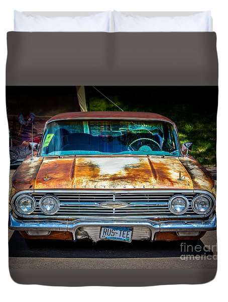 Rus-tee Duvet Cover by Perry Webster