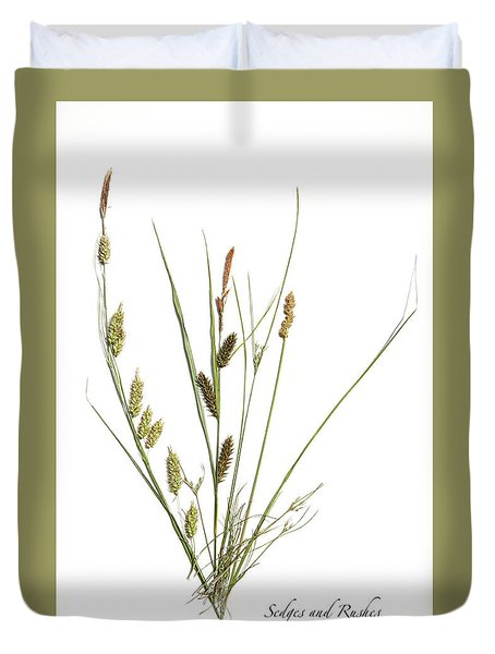 Rushes And Sedges Duvet Cover