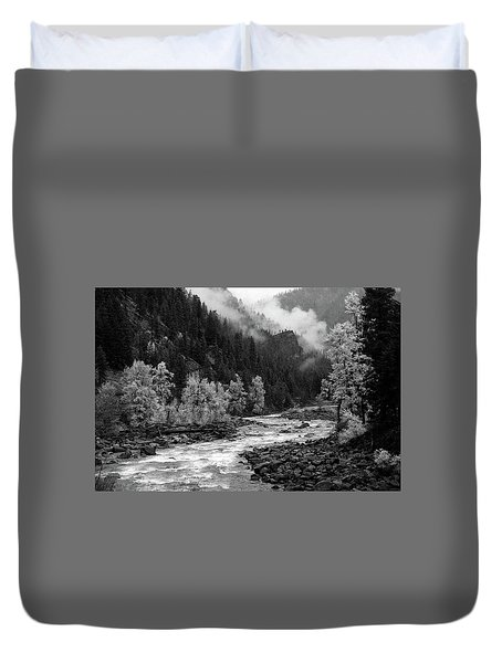 Rushing River Duvet Cover