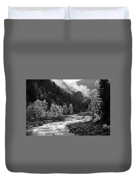 Rushing River Duvet Cover