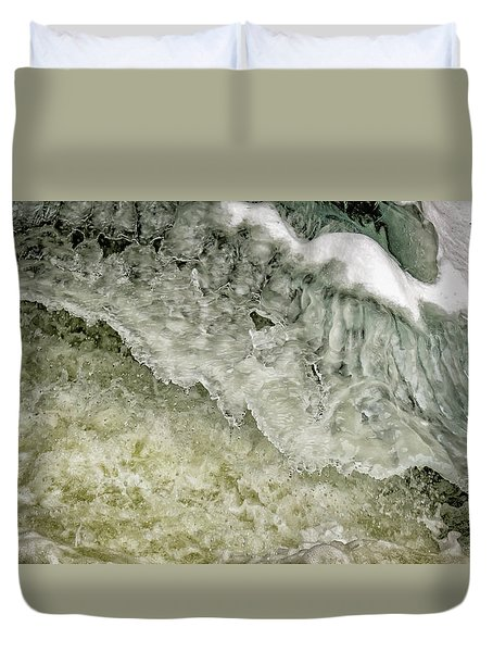 Rushing Water Duvet Cover