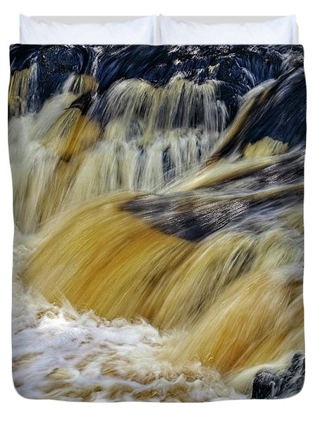 Rushing Water Duvet Cover