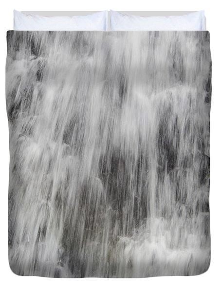 Rushing Waterfall Duvet Cover
