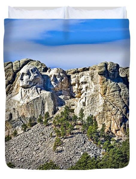 Rushmore Duvet Cover