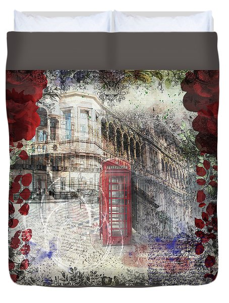 Russell Square Duvet Cover