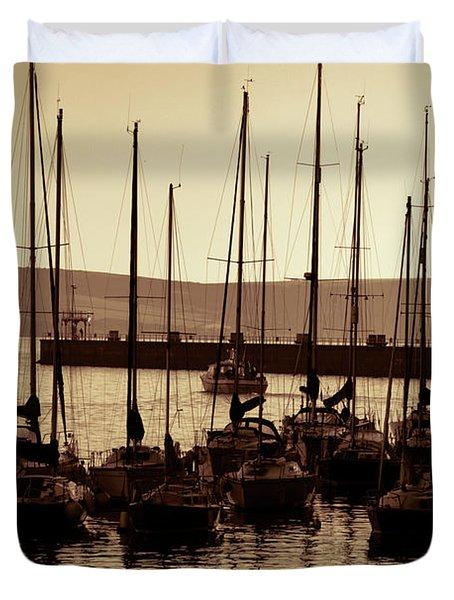 Russet Harbour Duvet Cover