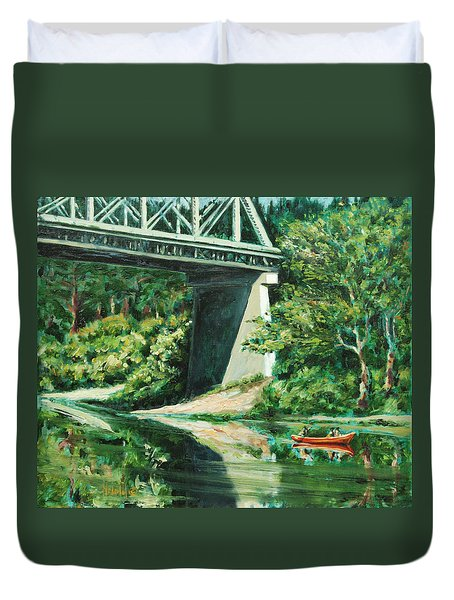 Russian River Duvet Cover