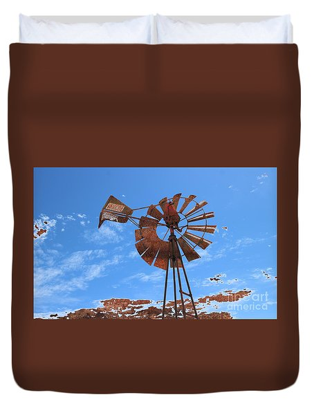 Rust Age Duvet Cover
