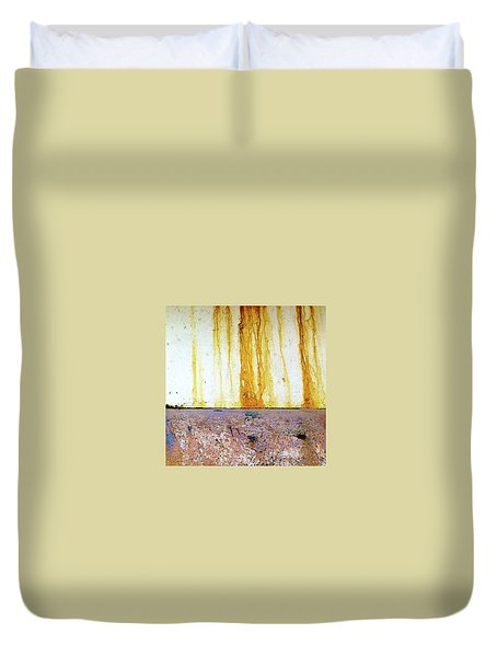 Rust Duvet Cover