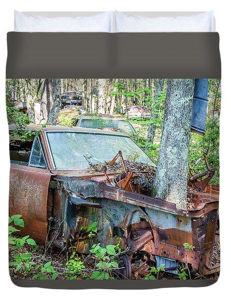 Rust Away Duvet Cover by Menachem Ganon