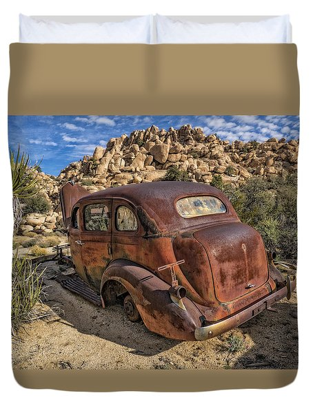 Rust Bucket Duvet Cover