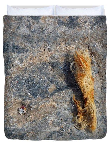 Rust In The Dust Duvet Cover