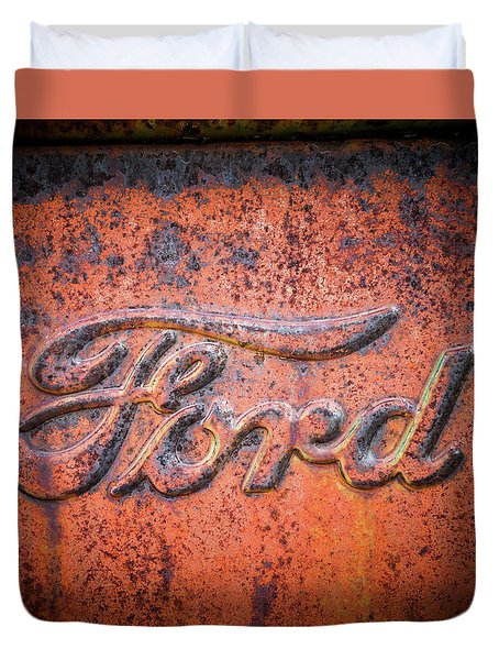 Rust Never Sleeps - Ford Duvet Cover