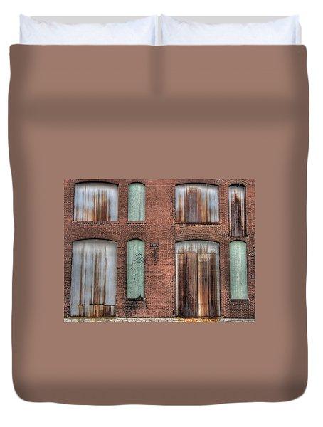 Rust Never Sleeps Duvet Cover by Jane Linders