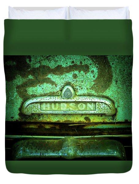 Rusted Hudson Duvet Cover