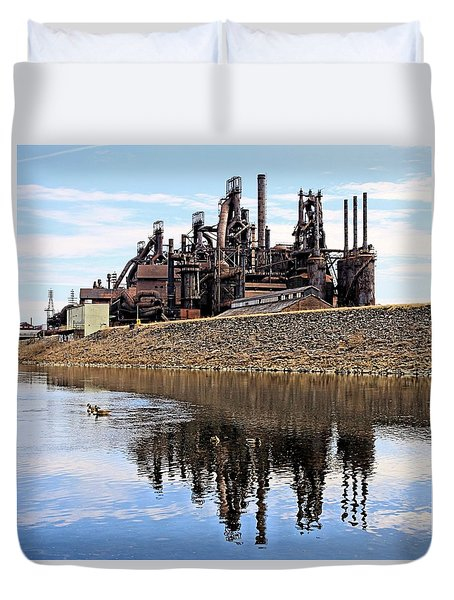Rusted Relection Duvet Cover