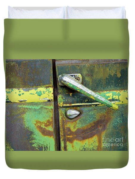 Rusted Series 4 Duvet Cover by Laura Atkinson