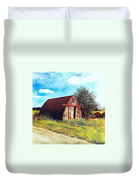 Rusted Shed, Lazy Afternoon Duvet Cover